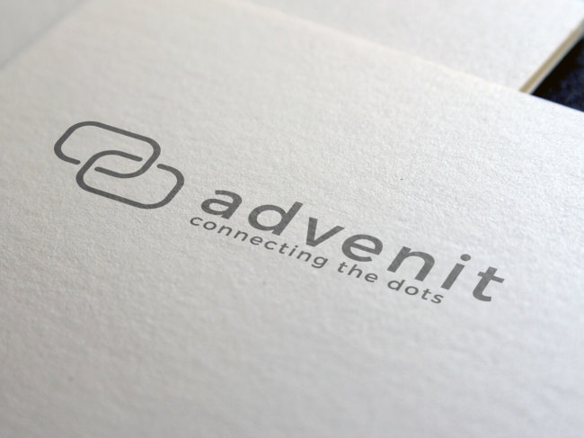 Advenit logo design