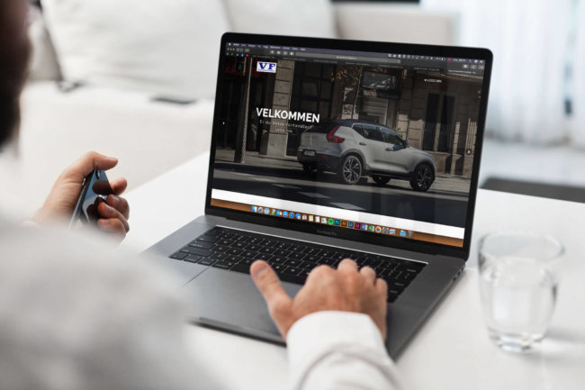 Samarbeid med Volvo